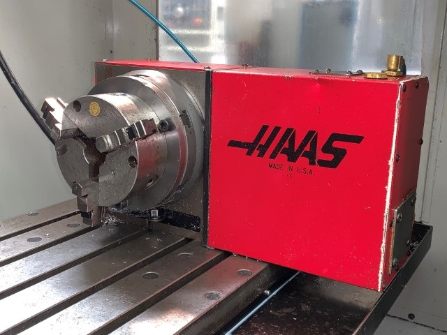 Haas machine for CNC turning