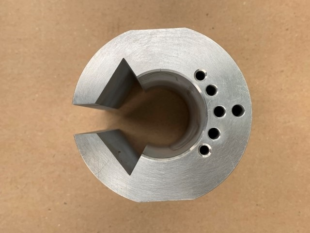 Complex machined part